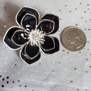 Stretchy Enamel Flower Ring